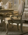 AICO Dining Arm Chair Lavelle in Blanc AI-54004-04 (Set of 2)