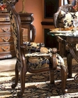 AICO Dining Arm Chair Oppulente in Sienna Spice AI-67004-52 Set of 2