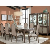 AICO Dining Room Set Biscayne West In Haze Finish AI 80000 200SET