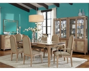 AICO Dining Room Set Biscayne West in Sand Finish AI-80000-102SET