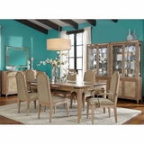 AICO Dining Room Set Biscayne West In Sand Finish AI 80000 102SET