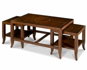 AICO Discoveries Bunching Tables (3pc) AI-ACF-NST-LMGS-008