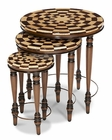 AICO Discoveries Casa Nesting Tables (3pc) AI-ACF-NST-CASA-003