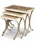 AICO Discoveries Nesting Tables (3pc) AI-ACF-NST-ATHN-003