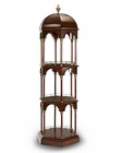 AICO Discoveries Round Display Cabinet AI-ACF-CUR-MCCA-10S