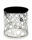 AICO Discoveries Round Glass Accent Table AI-ACF-ACT-GRND-47