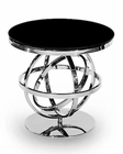 AICO Discoveries Round Glass Accent Table AI-ACF-ACT-MLRS-85