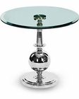 AICO Discoveries Round Glass Accent Table AI-ACF-ACT-SNST-45