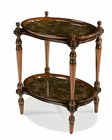 AICO Discoveries Rubber Leaf Accent Tray Table AI-ACF-ACT-MNSR-013
