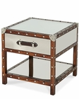 AICO Discoveries Trunk End Table with Drawer AI-ACF-TNK-ENDTB-02