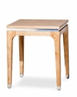 AICO End Table Biscayne West in Sand Color AI-80202-102