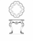 AICO End Table Chateau Beauvais AI-75202-39