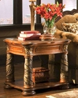 AICO End Table Villa Valencia AI-72202TC-55