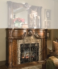 Aico Furniture Windsor Court Fireplace in Fruitwood AI-70220-54