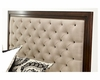 AICO Headboard  w/ Tufted Fabric Bella Cera AI-38000HB-45
