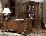 AICO Home Office Set Excelsior in Fruitwood AI-N5920-47