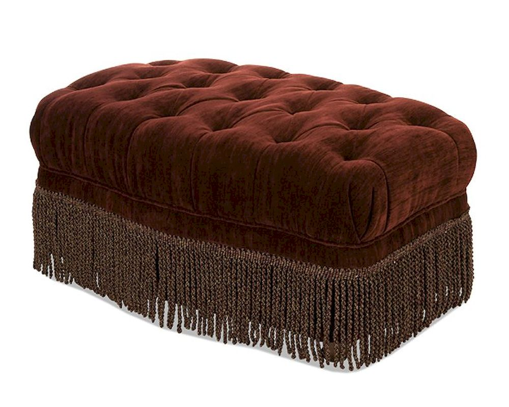 Astounding Aico Imperial Court Tufted Chair Ottoman In Eggplant Ai Evergreenethics Interior Chair Design Evergreenethicsorg