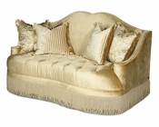 AICO Imperial Court Tufted Loveseat in Pearl AI-79825-PEARL-00