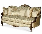 AICO Imperial Court Wood Trim Sofa AI-79815-CHPGN-40