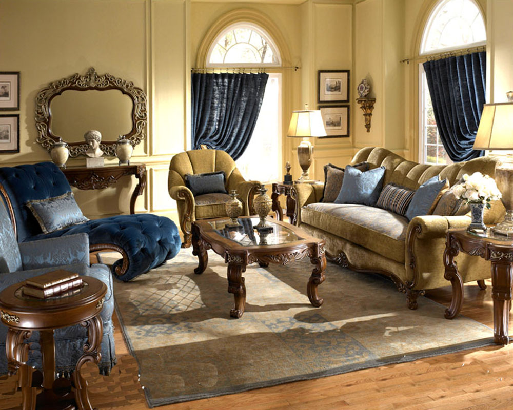 aico living room set venetian ll ai 6881538