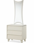 AICO Night Stand and Nightstand Mirror Beverly Blvd AI-0604041