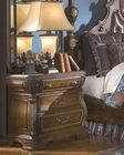 AICO Night Stand Sovereign in Soft Mink AI-57040-51