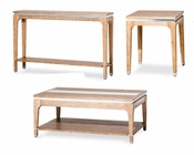 AICO Occasional Table Set Biscayne West in Sand Color AI-80201-102Set