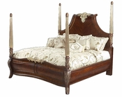 AICO Panel Bed (3 pc) Imperial Court AI-790BED