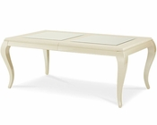 AICO After Eight 4 Leg Dining Table in Pearl Croc AI-19000-12