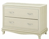 AICO After Eight Base of Two-Door Chest in Pearl Croc AI-19070B-12