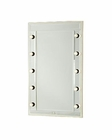 AICO After Eight Vanity/ Desk Mirror in Pearl Croc AI-19068-08