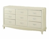 AICO After Eight Upholstered Dresser in Pearl Croc AI-19050-12