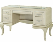 AICO After Eight Vanity/ Desk in Pearl AI-19058-12