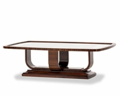 AICO Rectangular Cocktail Table Cloche AI-10201TB-32