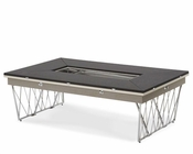 AICO Rectangular Folding Cocktail Table Beverly Blvd AI-06201-92
