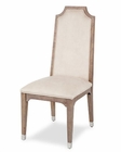 AICO Side Chair Biscayne West in Haze Finish AI-80003-200 (Set of 2)