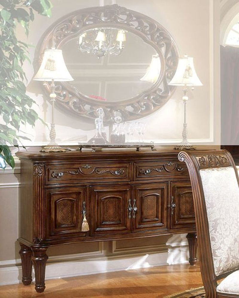 Aico Villagio Dining Room Set: AICO Sideboard Villagio AI-58007