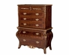 AICO Six Drawer Chest Imperial Court 79070-40
