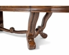 AICO  Trestle Dining Table Tuscano AI-34002TB-34