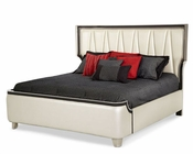 AICO Upholstered Bed Beverly Blvd AI-06012-93BED