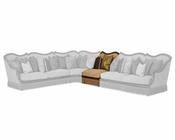 AICO Victoria Palace Armless Chair Sectional Piece AI-61830-AMBER-29