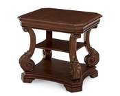 AICO Victoria Palace End Table AI-61202-29
