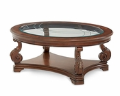 AICO Victoria Palace Oval Cocktail Table AI-61201-29