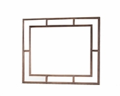 AICO Wall Mirror Biscayne West in Haze Color AI-80260-200