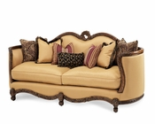 AICO Wood Trim Sofa Palais Royale AI-71815-BRGLD-35