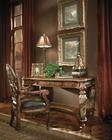 AICO Writing Desk Set Villa Valencia in Chestnut AI-722-55