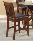 Alpine Counter Height Chair Oberlin AL258-24 (Set of 2)