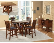 Alpine Counter Height Dining Set Oberlin AL258