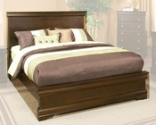 Alpine Panel Bed in Cappuccino Chesapeake AL3206BED