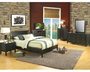 Alpine Sleigh Bedroom Set Vista ALSVSET